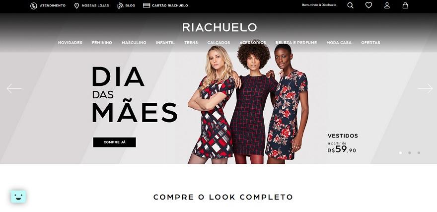 b5031011e Riachuelo coloca e-commerce no ar