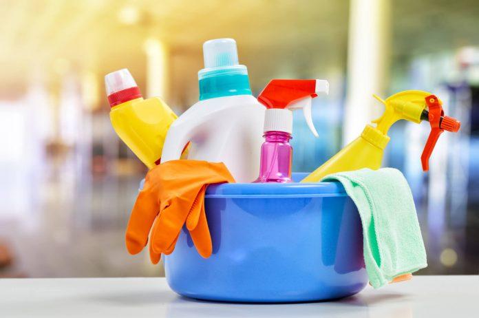 Materiais de limpeza têm aumento no volume de compras pela internet